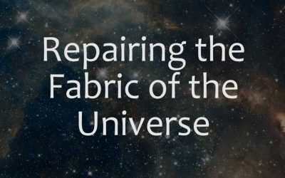 Repairing the Fabric of the Universe